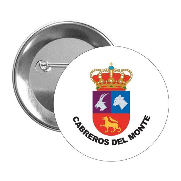1567 chapa escudo heraldico cabreros del monte