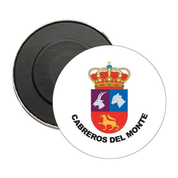 1567 iman redondo escudo heraldico cabreros del monte