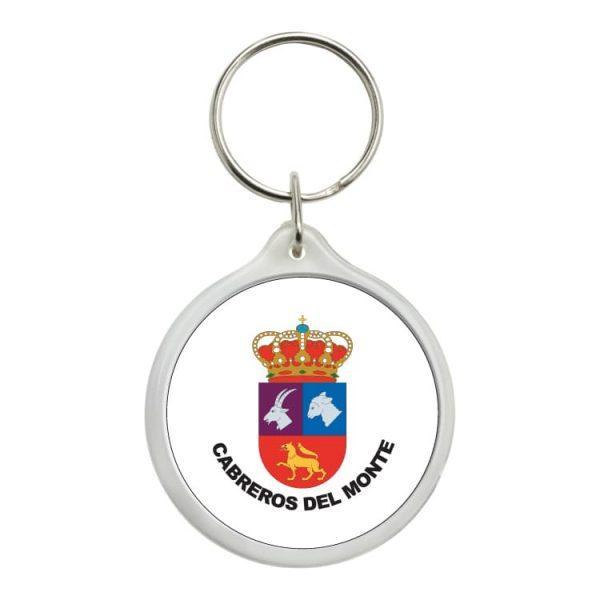 1567 llavero redondo escudo heraldico cabreros del monte