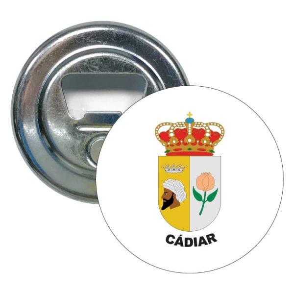 1568 abridor redondo escudo heraldico cadiar