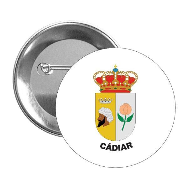 1568 chapa escudo heraldico cadiar