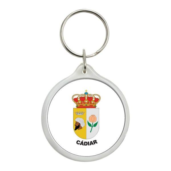 1568 llavero redondo escudo heraldico cadiar