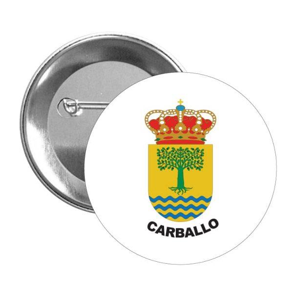 1570 chapa escudo heraldico carballo