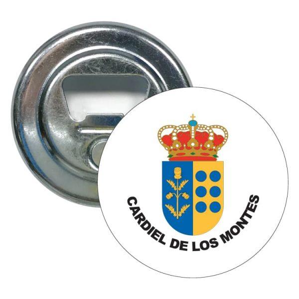 1571 abridor redondo escudo heraldico cardiel de los montes