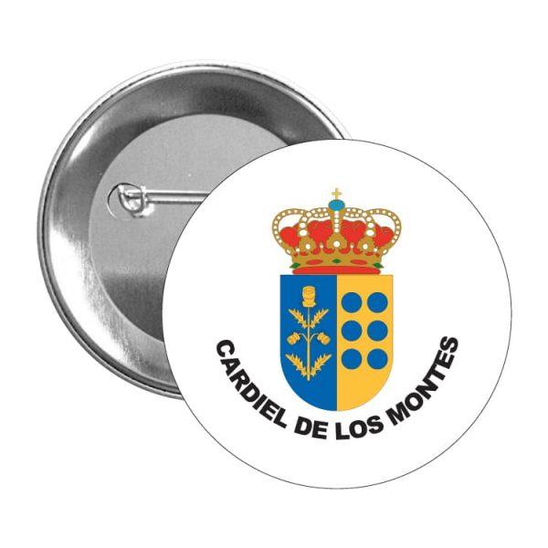 1571 chapa escudo heraldico cardiel de los montes