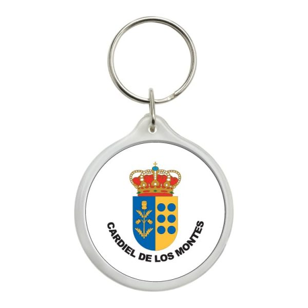 1571 llavero redondo escudo heraldico cardiel de los montes