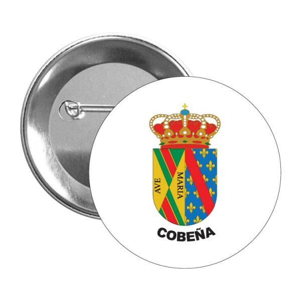1572 chapa escudo heraldico cobeña