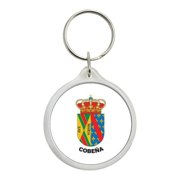 1572 llavero redondo escudo heraldico cobeña