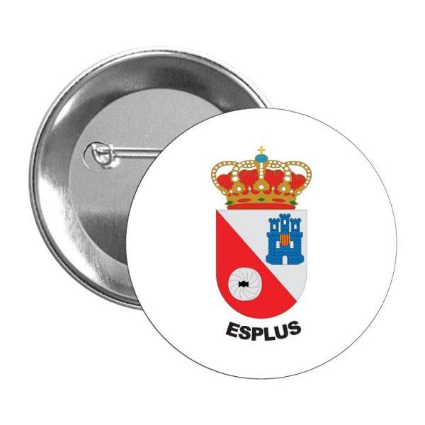 1577 chapa escudo heraldico esplus