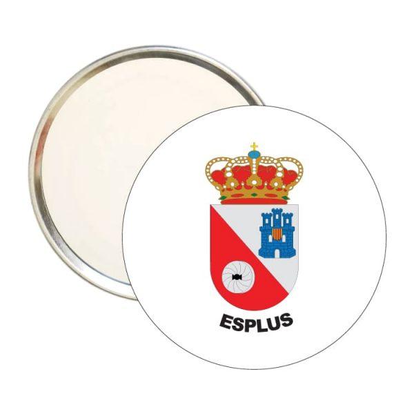 1577 espejo redondo escudo heraldico esplus