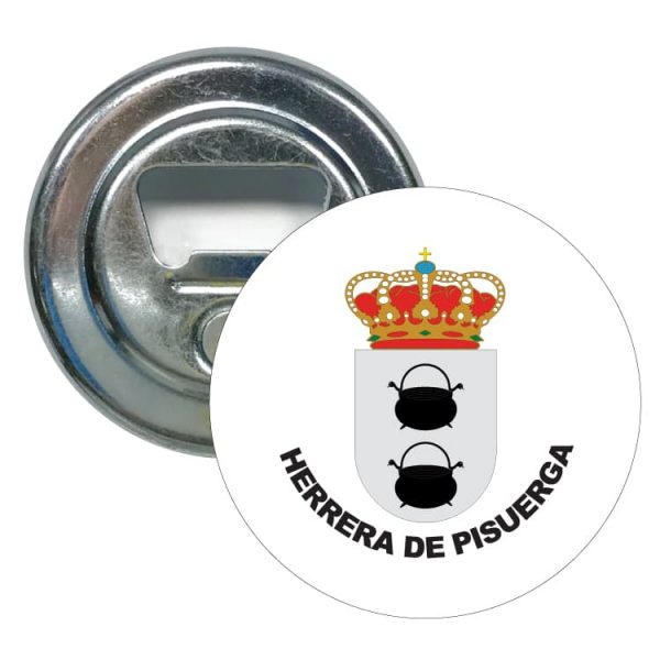 1578 abridor redondo escudo heraldico herrera de pisuerga