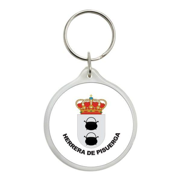 1578 llavero redondo escudo heraldico herrera de pisuerga