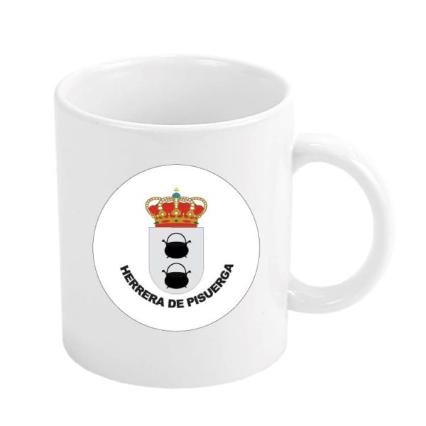 1578 taza escudo heraldico herrera de pisuerga