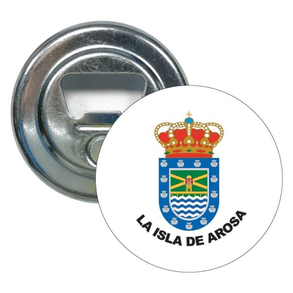 1581 abridor redondo escudo heraldico la isla de arosa