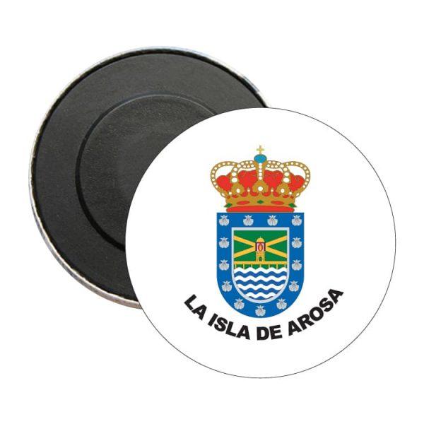 1581 iman redondo escudo heraldico la isla de arosa