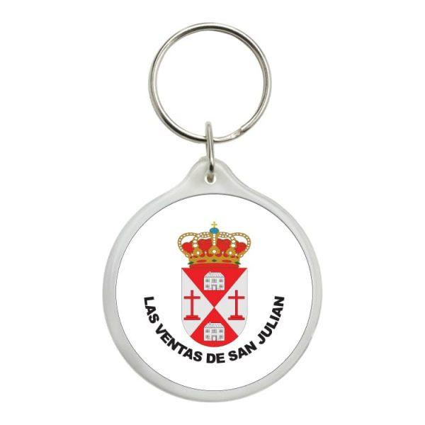 1582 llavero redondo escudo heraldico las ventas de san julian
