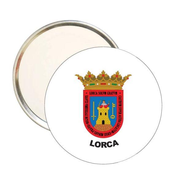 1583 espejo redondo escudo heraldico lorca