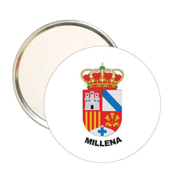 1584 espejo redondo escudo heraldico millena