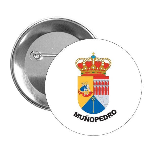 1585 chapa escudo heraldico muñopedro