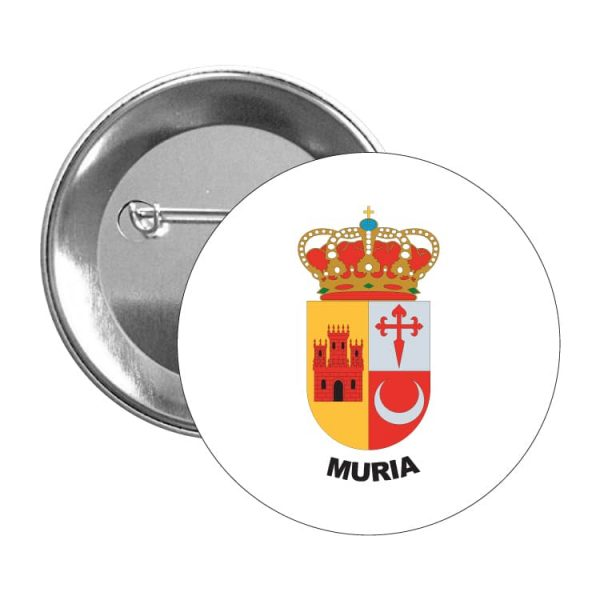 1586 chapa escudo heraldico muria