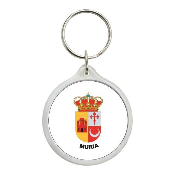 1586 llavero redondo escudo heraldico muria
