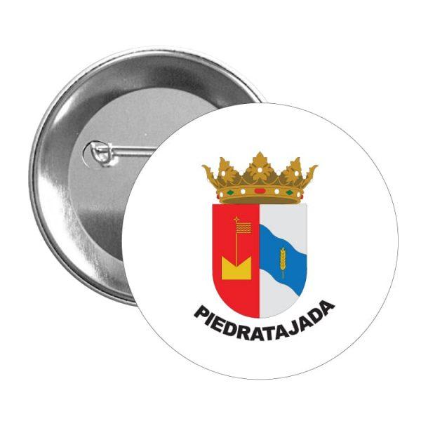 1587 chapa escudo heraldico piedratajada
