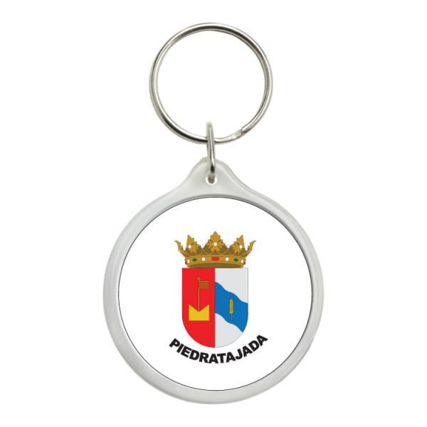 1587 llavero redondo escudo heraldico piedratajada