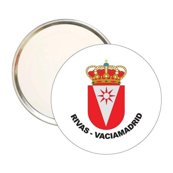 1590 espejo redondo escudo heraldico rivas vaciamadrid