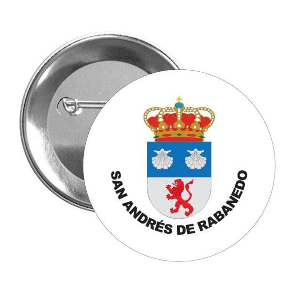 1591 chapa escudo heraldico san andres de rabanedo