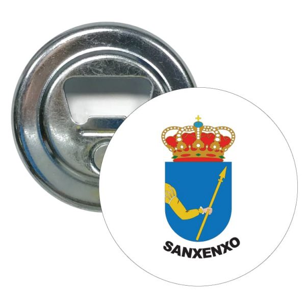 1592 abridor redondo escudo heraldico sanxenxo