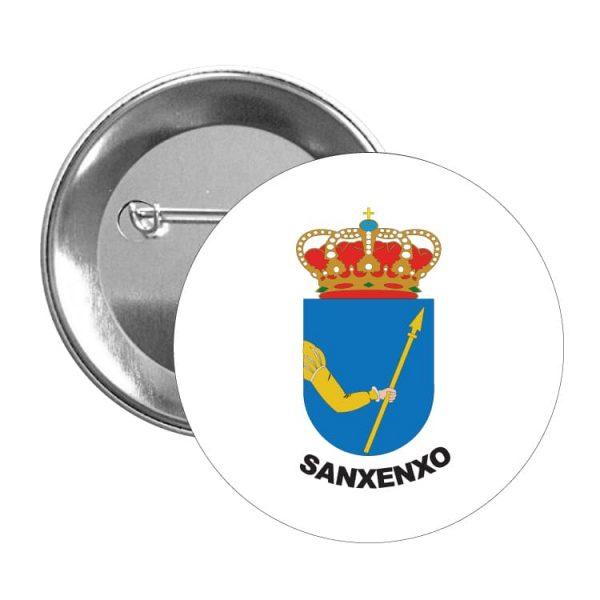 1592 chapa escudo heraldico sanxenxo