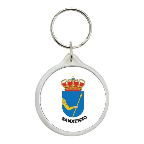 1592 llavero redondo escudo heraldico sanxenxo