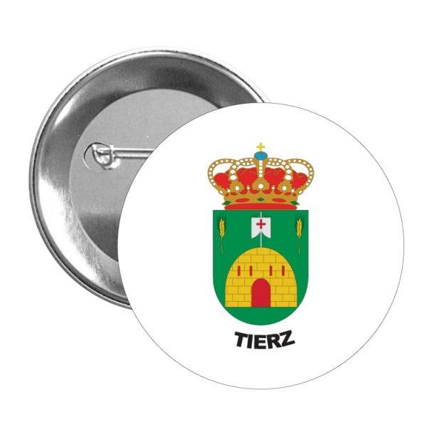 1593 chapa escudo heraldico tierz
