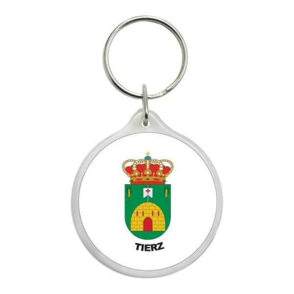 1593 llavero redondo escudo heraldico tierz