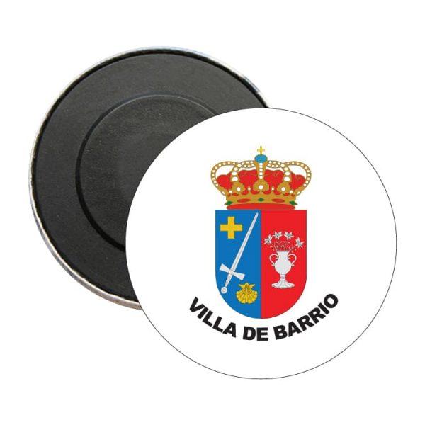 1598 iman redondo escudo heraldico villa de barrio