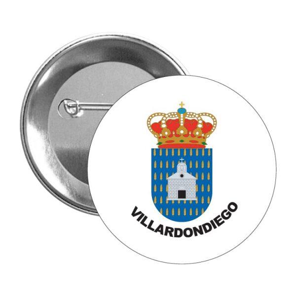 1599 chapa escudo heraldico villardondiego