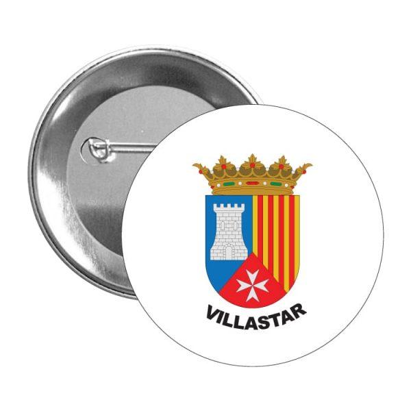 1601 chapa escudo heraldico villastar