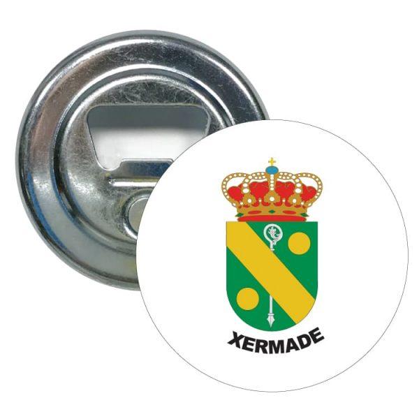 1602 abridor redondo escudo heraldico xermade