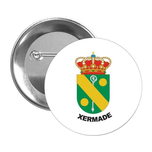 1602 chapa escudo heraldico xermade