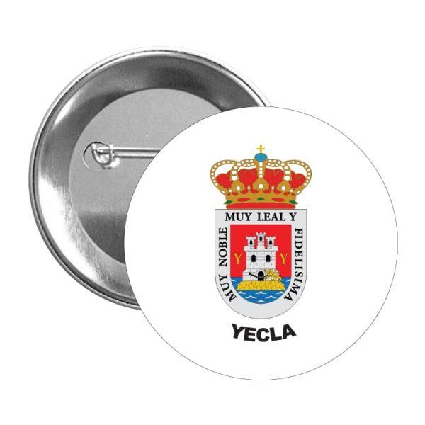 1603 chapa escudo heraldico yecla