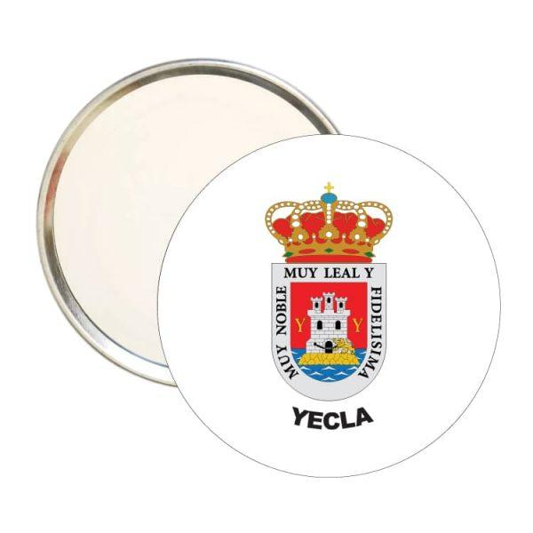 1603 espejo redondo escudo heraldico yecla