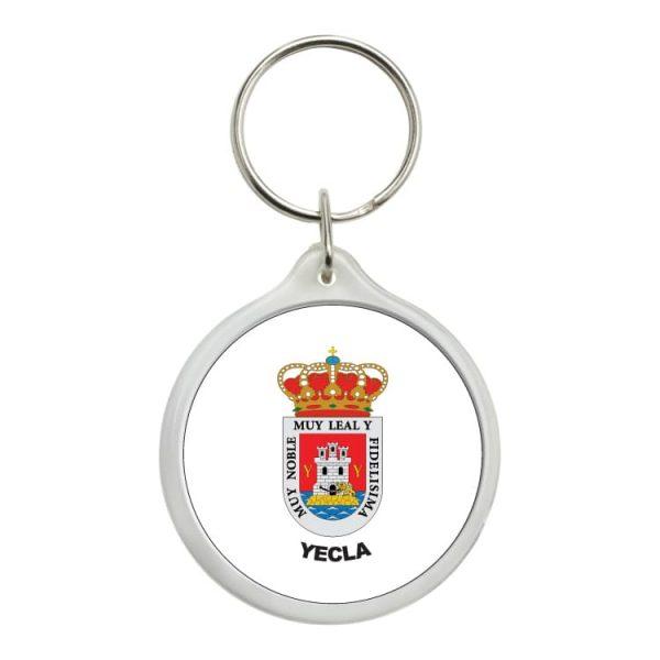 1603 llavero redondo escudo heraldico yecla