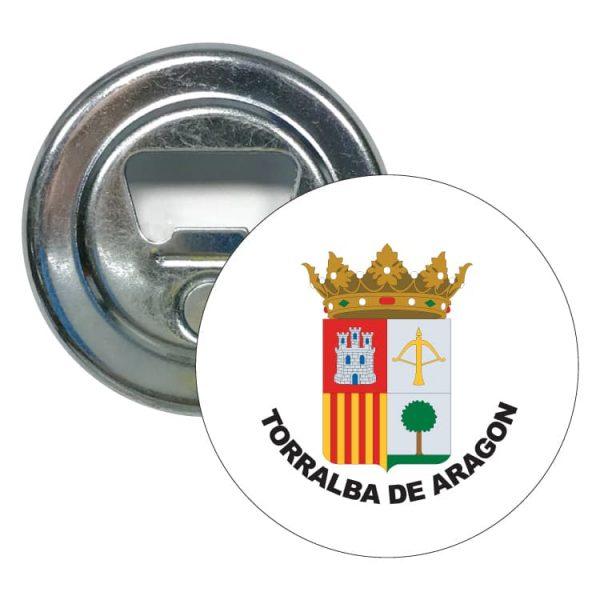 1605 abridor redondo escudo heraldico torralba de aragon