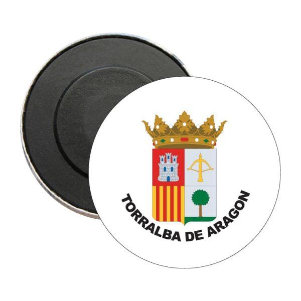 1605 iman redondo escudo heraldico torralba de aragon