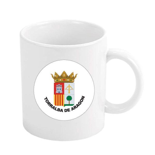 1605 taza escudo heraldico torralba de aragon