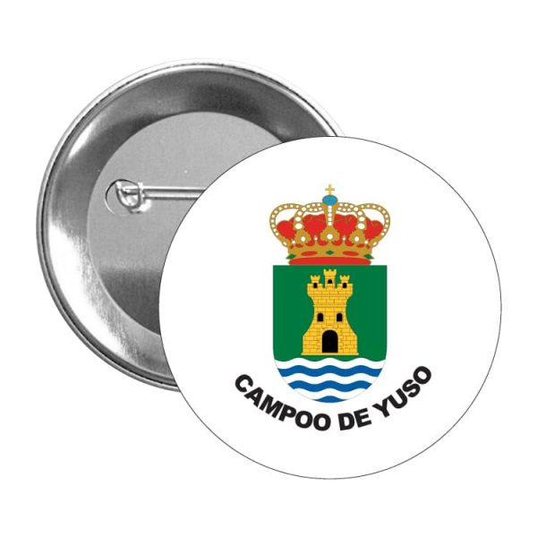 1606 chapa escudo heraldico campoo de yuso