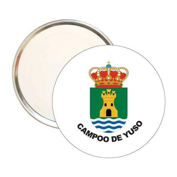 1606 espejo redondo escudo heraldico campoo de yuso