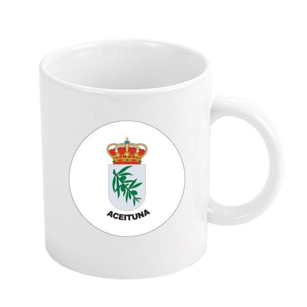 1607 taza escudo heraldico aceituna