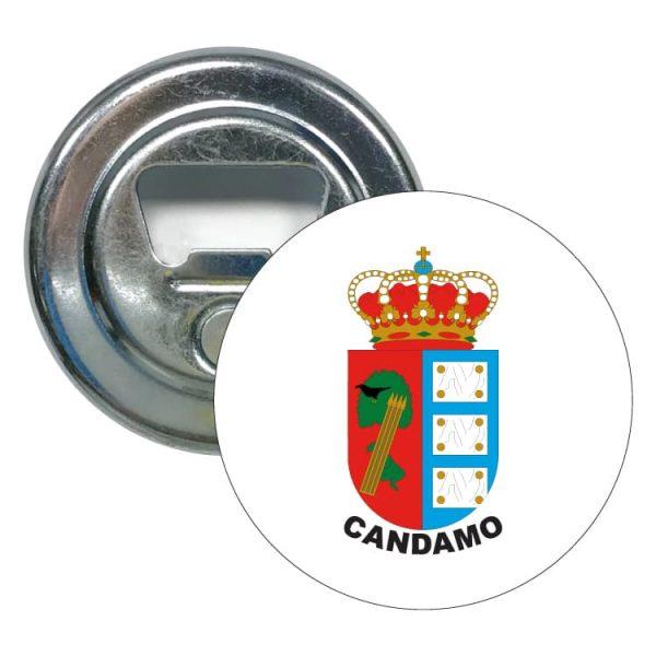 1608 abridor redondo escudo heraldico candamo