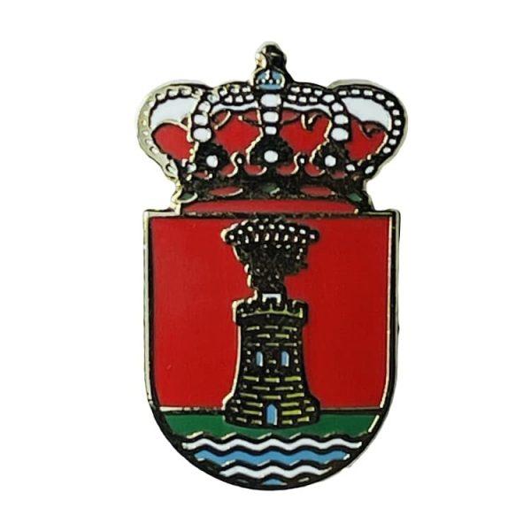 pin escudo heraldico adanero avila